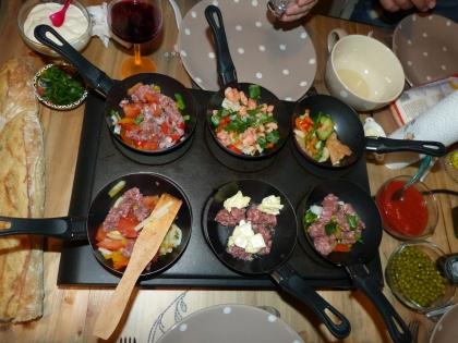 test soirée wok repas entre amis