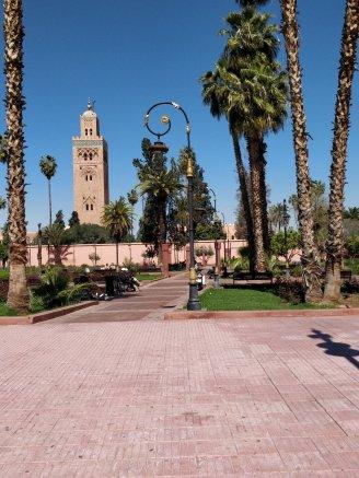 quartier de l'hivernage marrakech