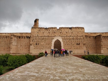 palais badi marrakech du rire visite