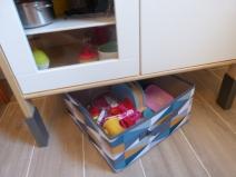 panier de rangement cuisine ikea pour enfant idée déco
